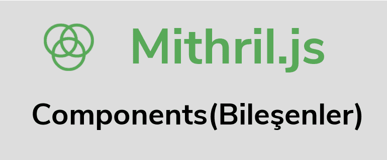 Mithril.js Components